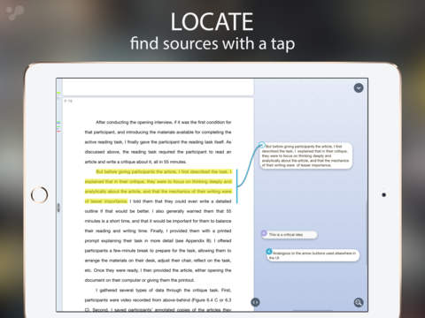 annotare documenti su ipad